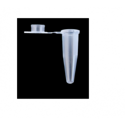 PCR Tubes 0,2 ml with flat caps