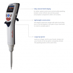 CappMaestro electronic single channel pipette