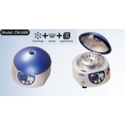 Centrifuge-mixer without rotor
