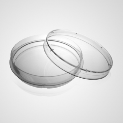 100mm Cell Culture Dish, with Gripping Ring, TC, Sterile 10/bag, 300/cs