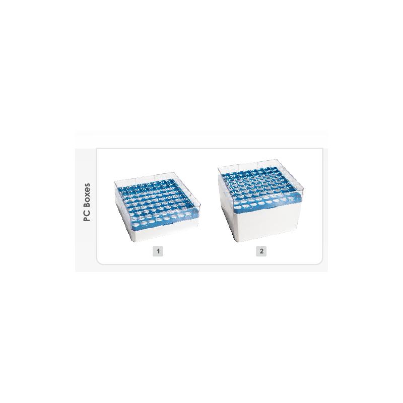 AHN myPlate 81-place box, for 4.0 ml, PC