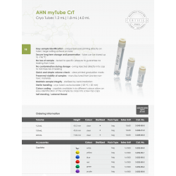 AHN myTube CrT 1.2 ml steril