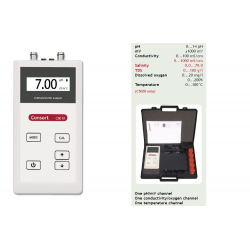 pH - mV - Conductivity - Dissolved oxygen - Temperature